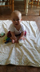 Bare Bums Blanket play mat