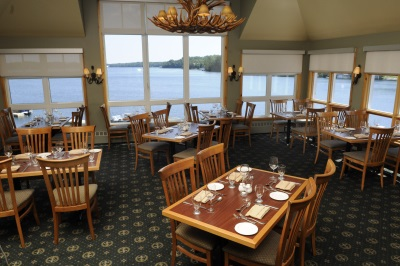 Rocky Crest Golf Resort Restaurant Windows